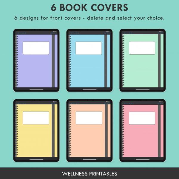 digital notebook covers