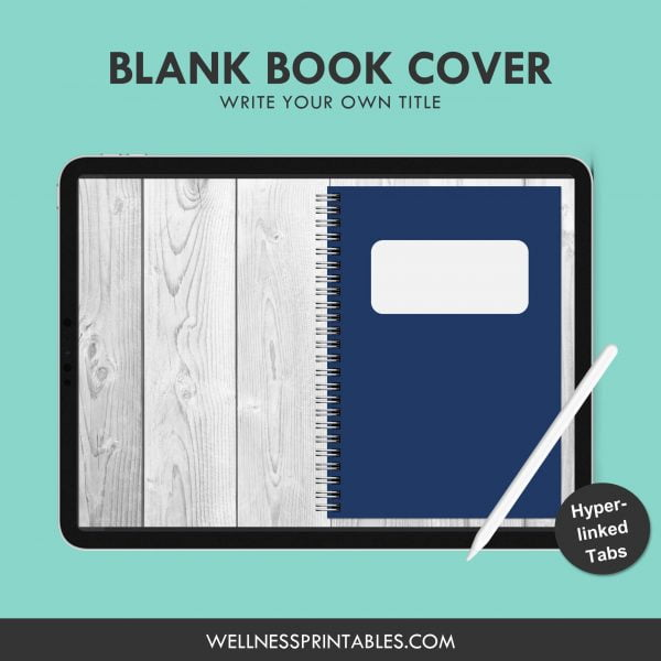 free digital notebook cover