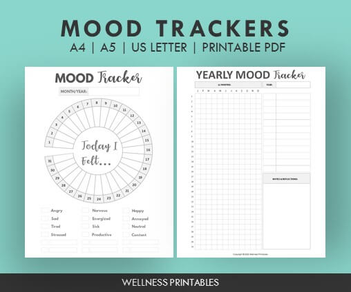 mood tracker charts