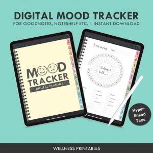 mood tracker digital planner