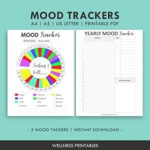 Mood Tracker Chart
