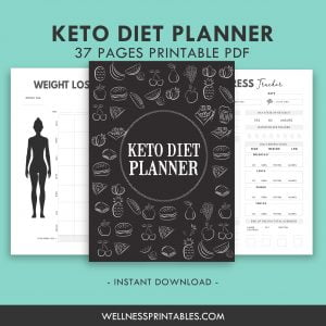 keto diet weight loss planner