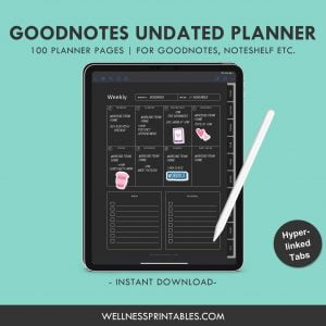 goodnotes template